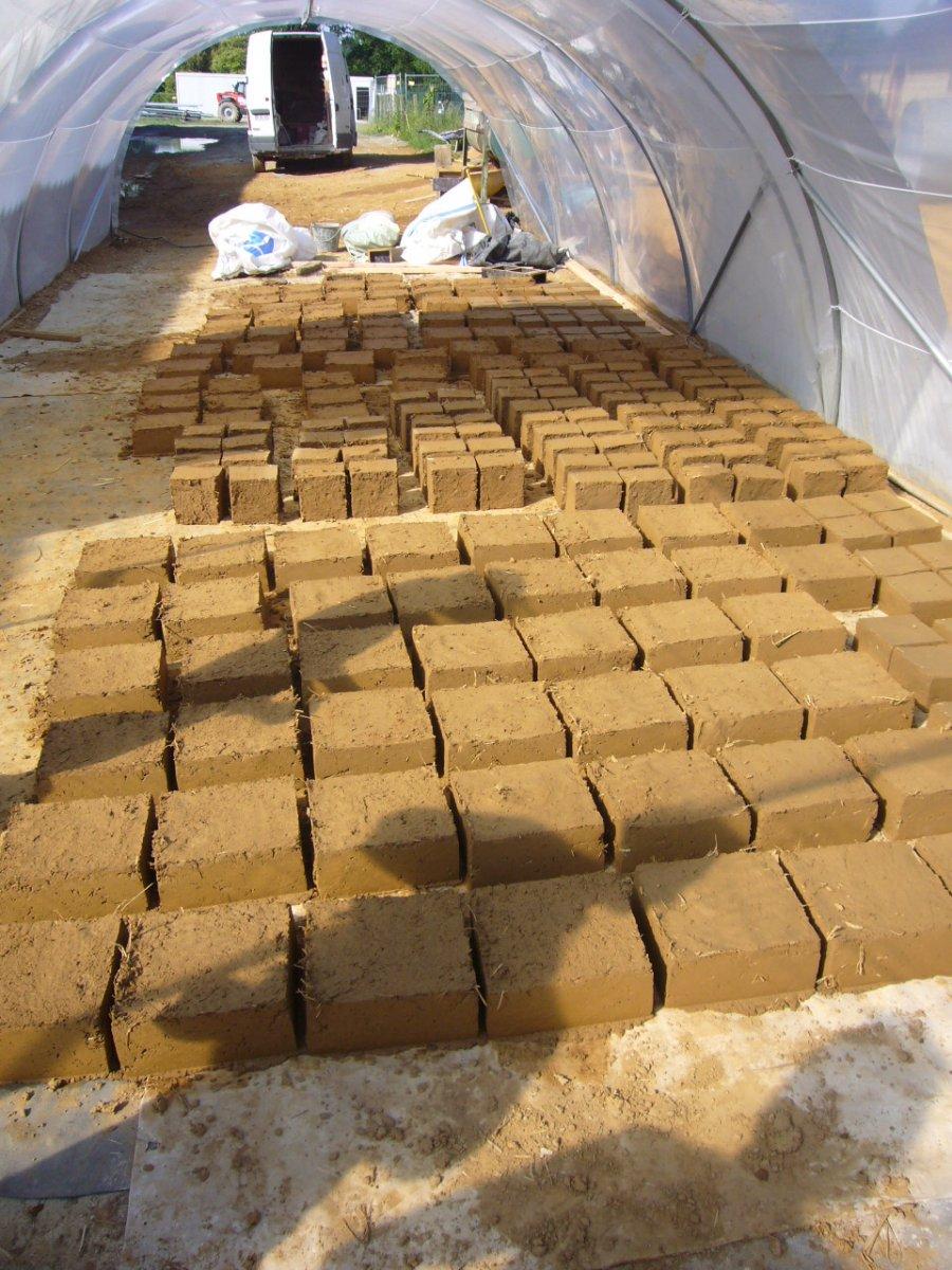 séchage briques d'adobe, Loïc.daubas©