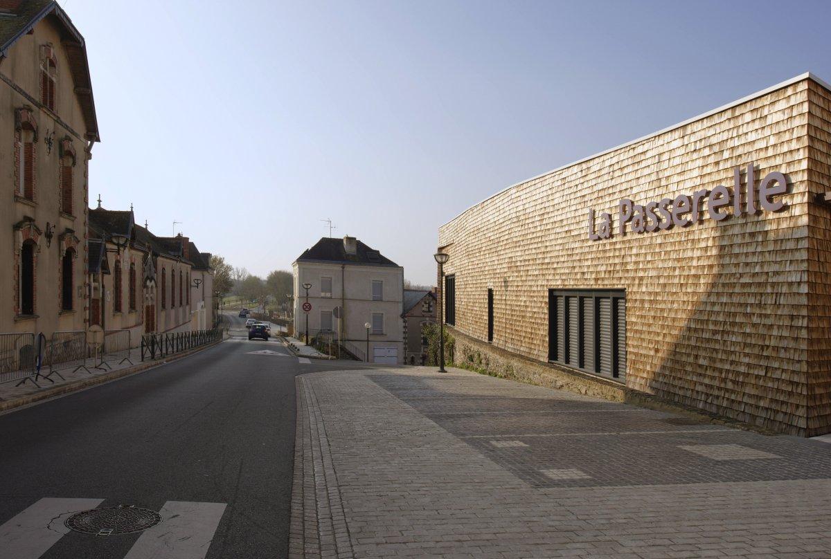 La Passerelle Cantenay EpinardArchitecture Bellenfant Daubas© JF Molliere